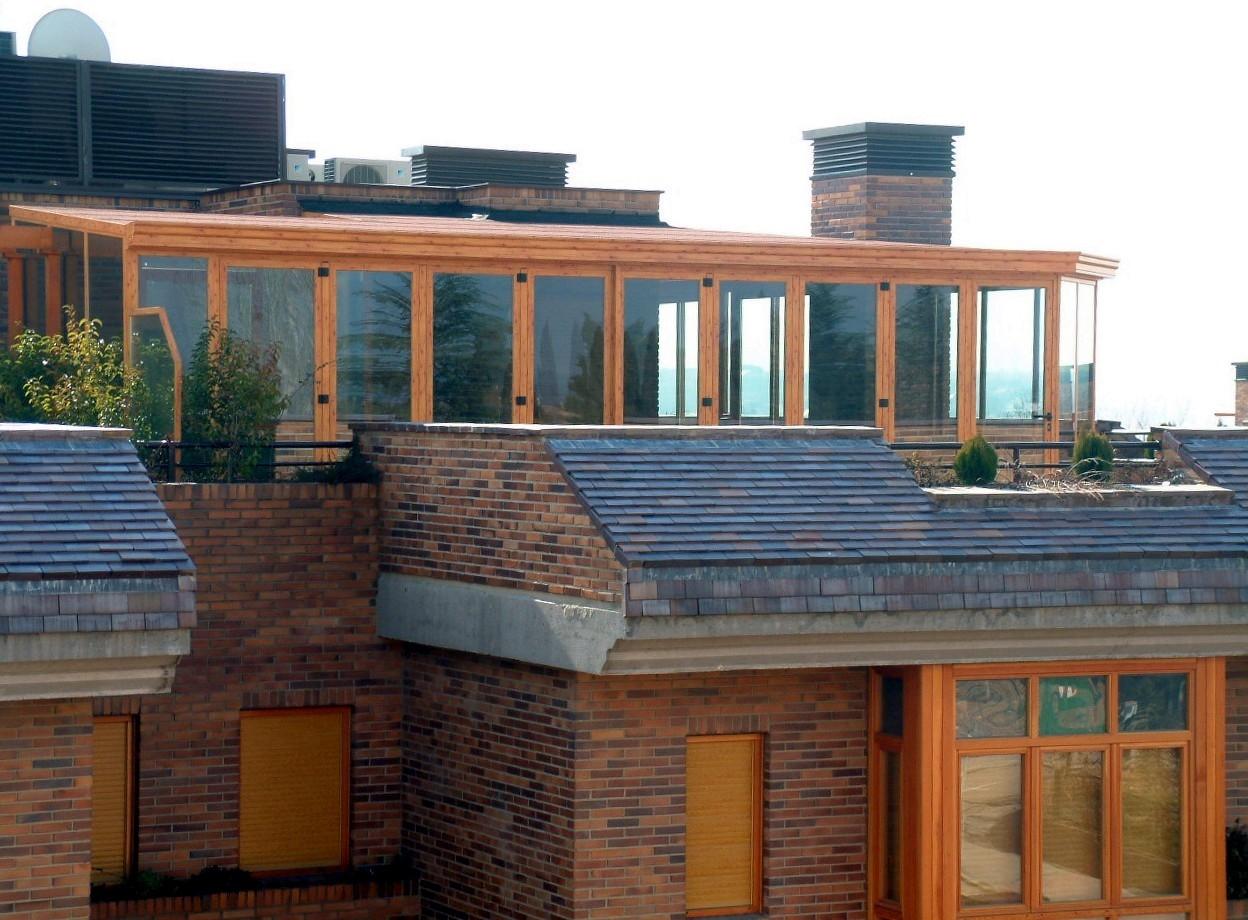 Fraimar aluminios s l techos cortinas de cristal y - Cerramientos de aluminio para porches ...