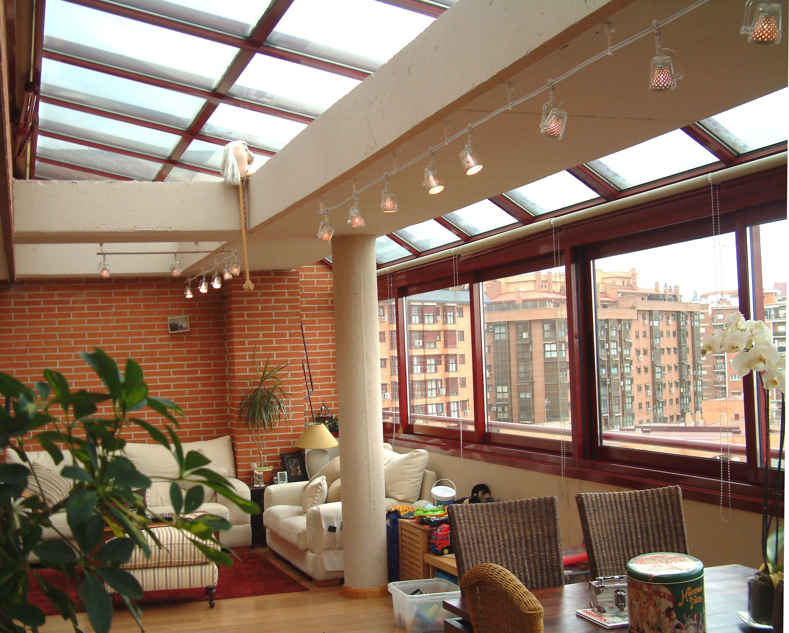 Fraimar aluminios s l techos fijos techos cortinas for Techos moviles para terrazas precios