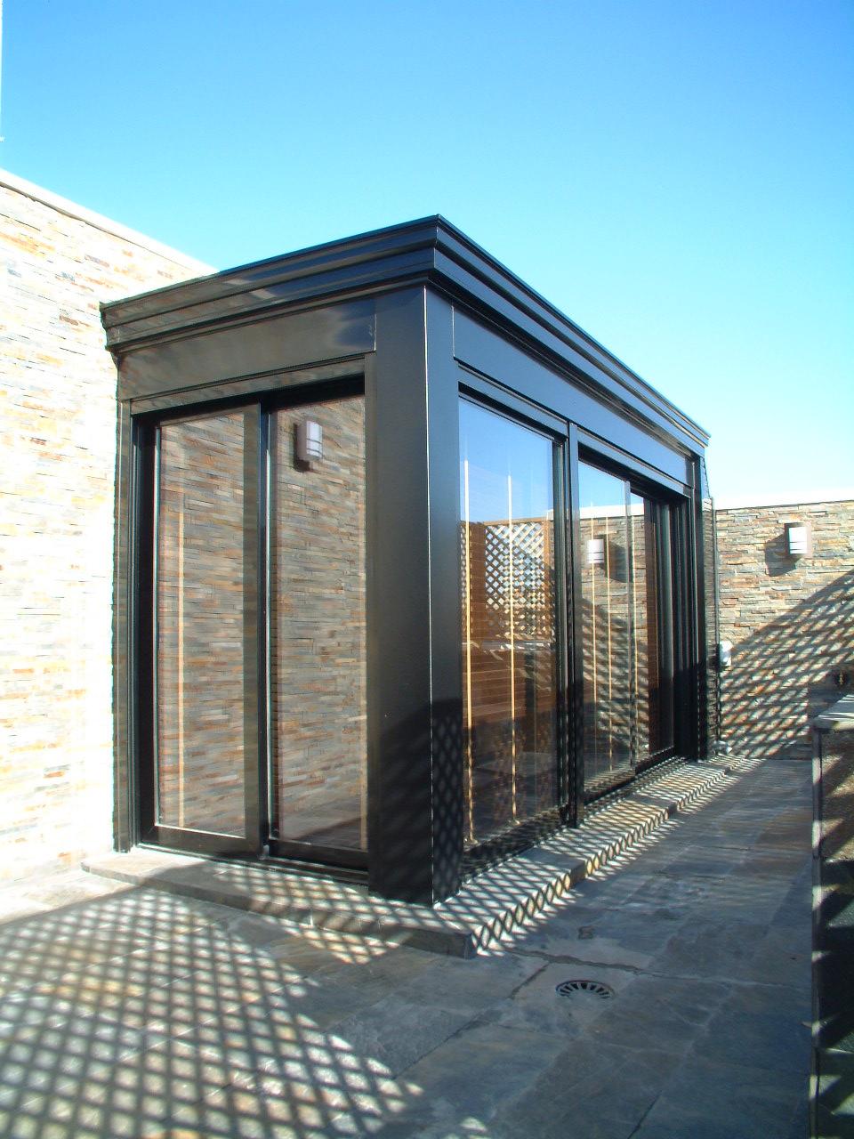 Cerrar terraza con aluminio beautiful cerramiento terraza - Cerrar terraza atico ...